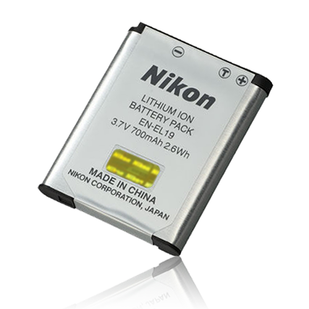 NIKON  EN-EL19專用相機原廠電池 (全新密封包裝)