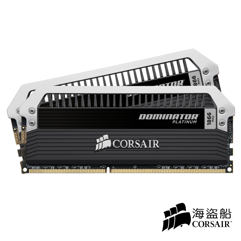 CORSAIR Dominator 白金系列 DDR3-1866 16G(8GX2)CL9