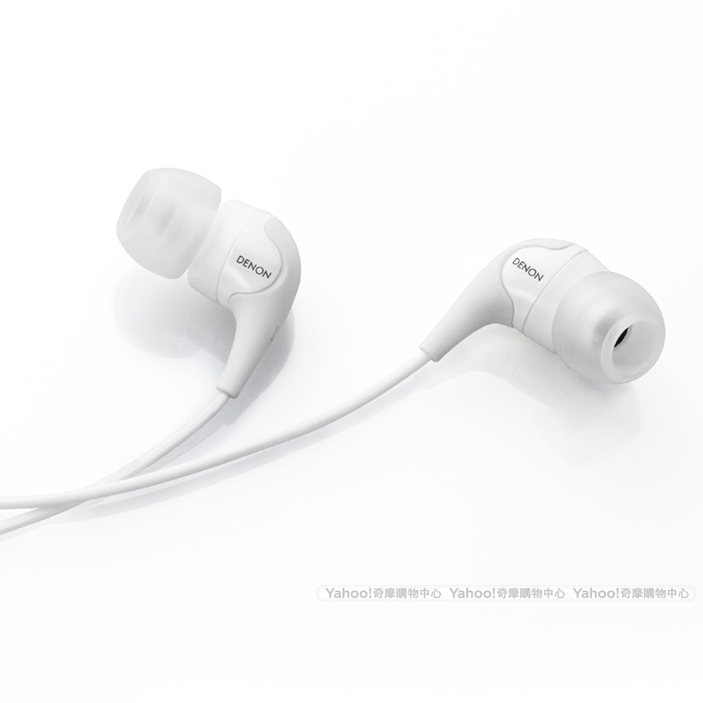 DENON AH-C360 In-Ear Headphone 耳道耳機 白色版