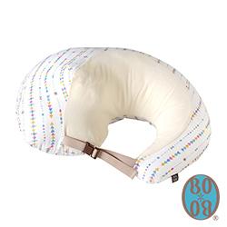 BOBO 糖果星紗逗點式哺乳學坐枕