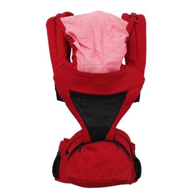 日本西村媽媽 Lucky POLBAN腰凳背帶 (紅色)