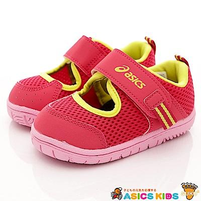 亞瑟士SUKU2機能鞋 高透氣速乾款 118-71紅(小童段)