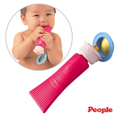 日本People-新乳液瓶身咬舔玩具