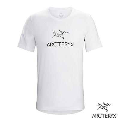 Arcteryx 24系列 男 有機棉 ARCWORD 短袖T恤 白