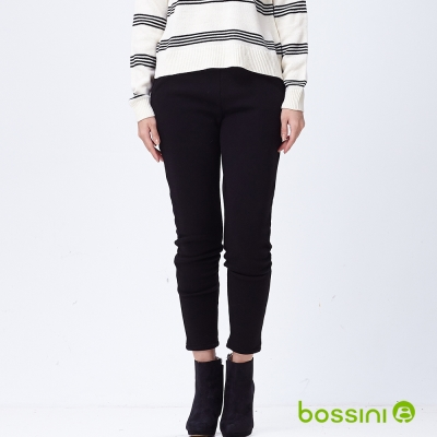 bossini女裝-絨毛保暖褲04黑