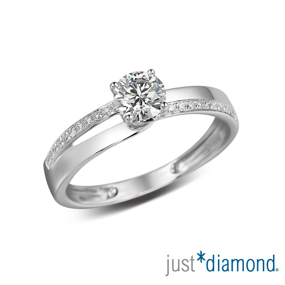 Just Diamond 30分18K金鑽石戒指-永結