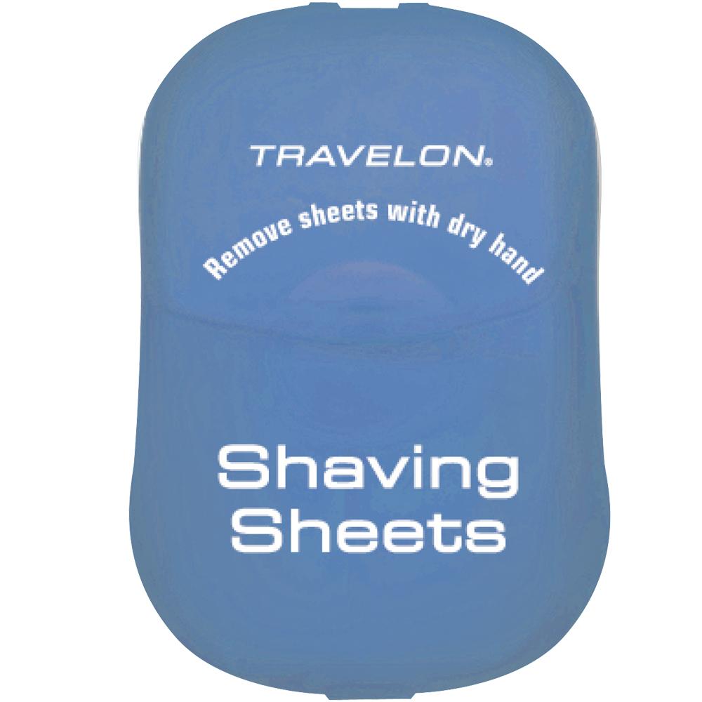 TRAVELON 刮鬍旅用皂紙(藍)