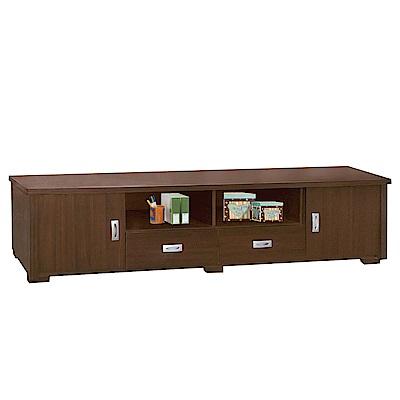 品家居 貝比萊6尺長櫃/電視櫃(二色可選)-180x40.4x47cm免組