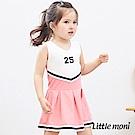 Little moni 無袖洋裝連身裙 (2色可選)