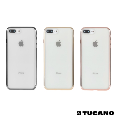 TUCANO iPhone7/8 Plus全機防護TPU保護套(5.5吋)