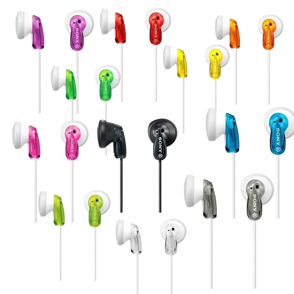 SONY多彩樣立體聲耳塞式耳機MDR-E9LP