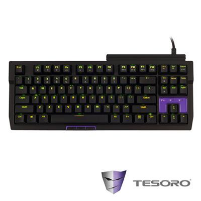 TESORO鐵修羅 TIZONA鐵聖納機械式鍵盤-紅軸中文