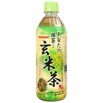 Sangaria您的玄米茶-抹茶風味500ml