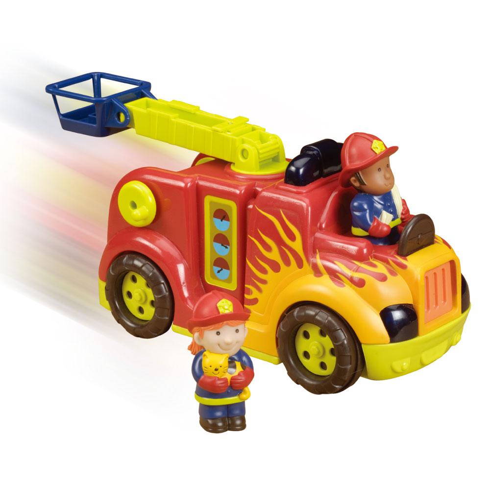 美國【B.Toys】喵嗚救火車
