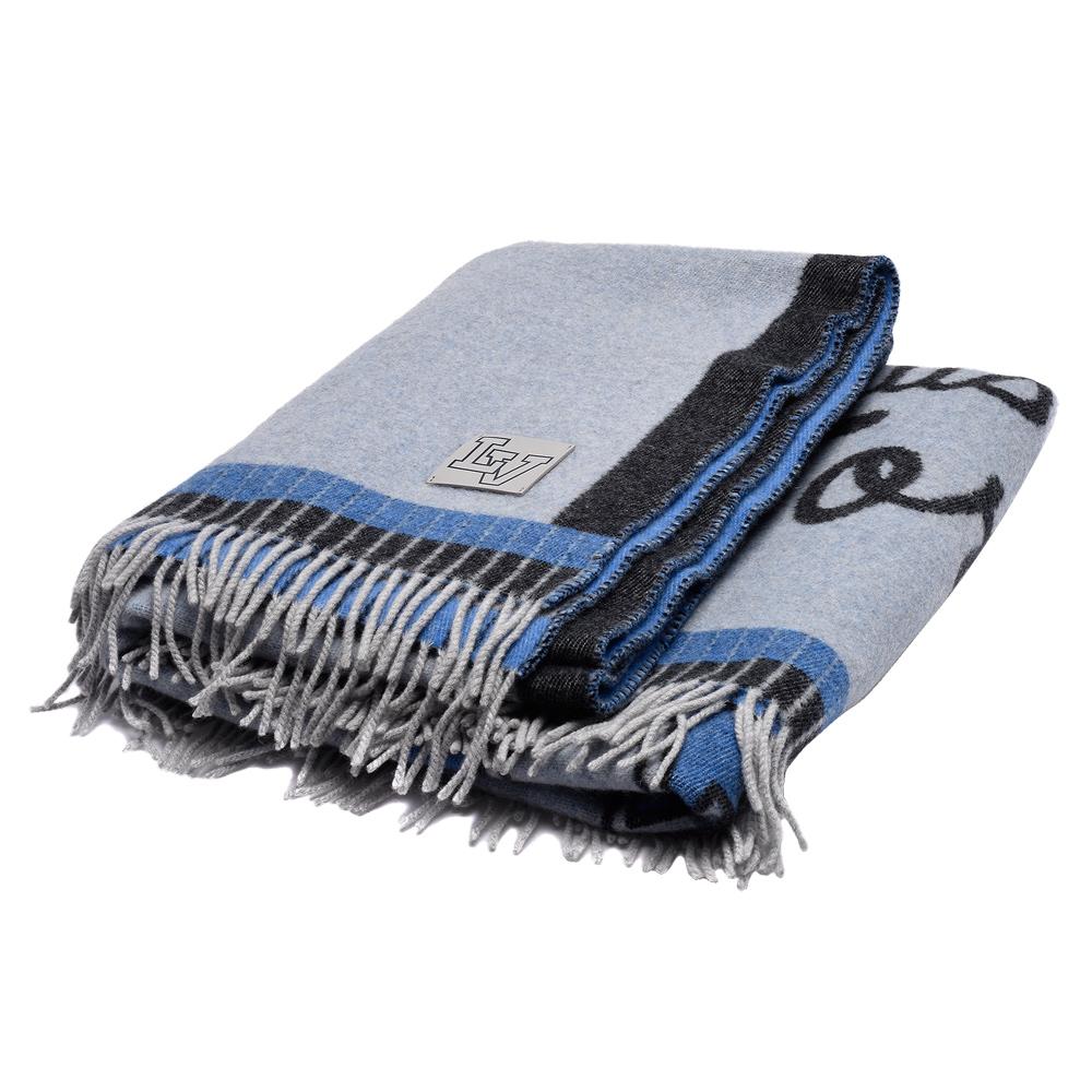 LV M73749經典League系列針織緹花喀什米爾羊絨毛氈 @ Y!購物