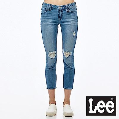 Lee 牛仔褲 329低腰合身窄管七分牛仔褲-女款
