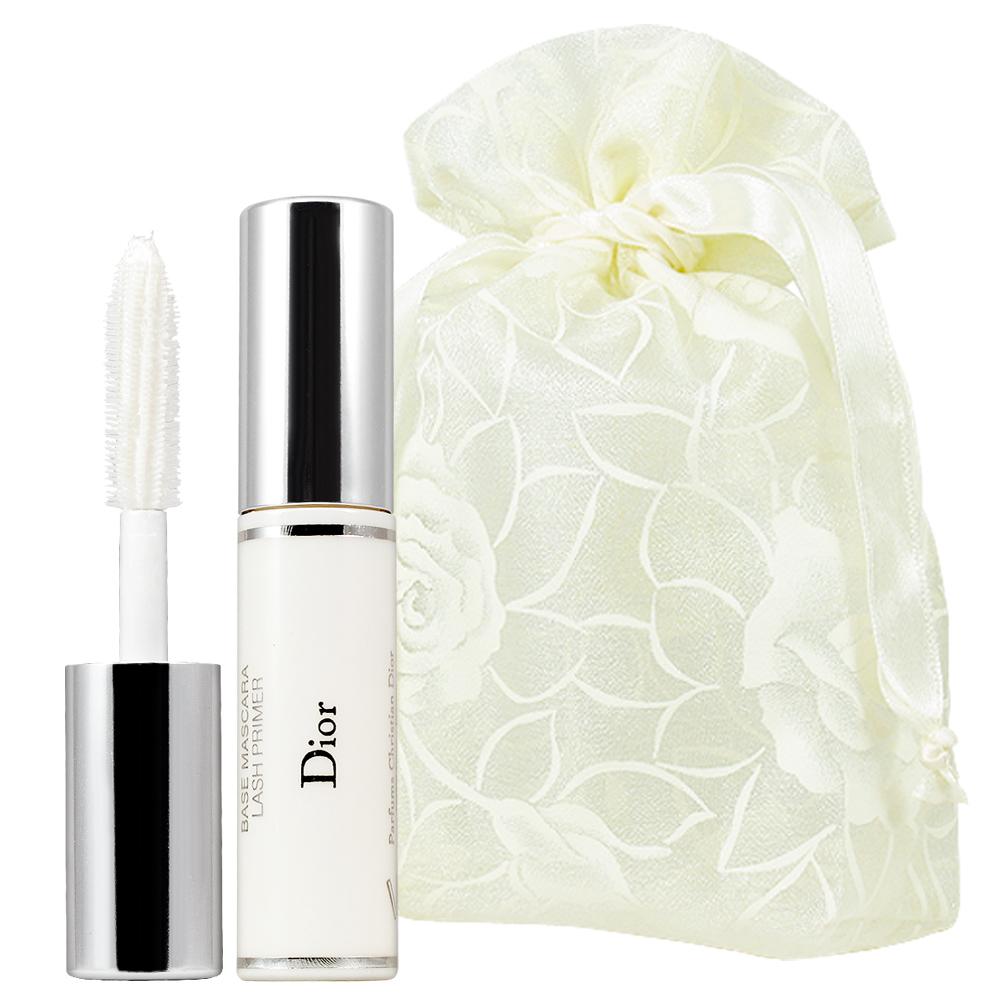 Dior 迪奧 搶眼睫毛增量精華底膏(4ml)旅行袋組