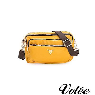 Volee飛行包-伴旅系列多功能多拉隨行鍊肩背包-西班牙黃