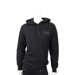 Y-3 CLASSIC HOODIE 黑色棉質連帽運動衫