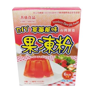 耆盛 DIY草莓果凍粉(105g)