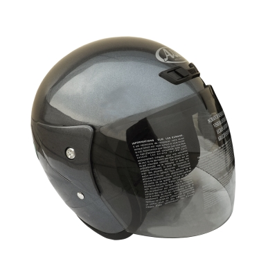 ASIA FreeStyle A-702 3/4罩式安全帽 灰色