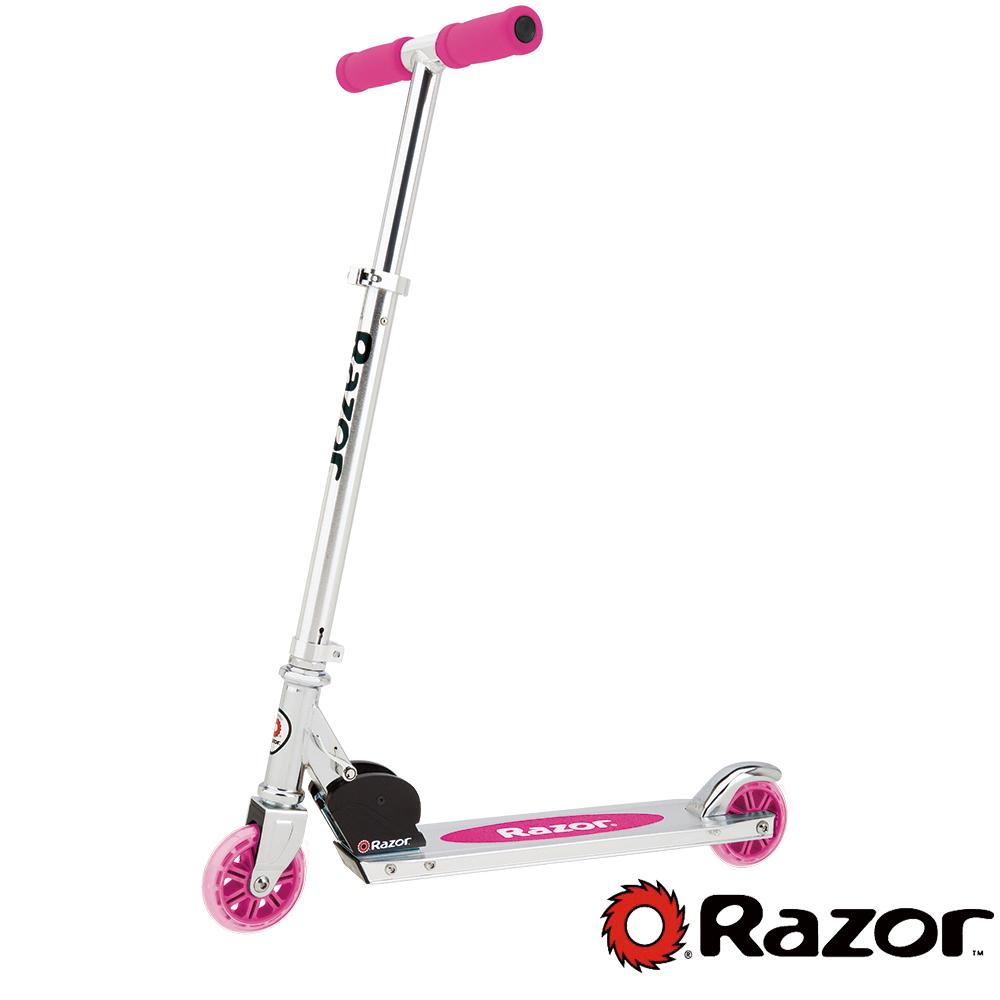 【 美國 Razor 】 A Scooter 兒童 滑板車 / 平衡車 - 粉色