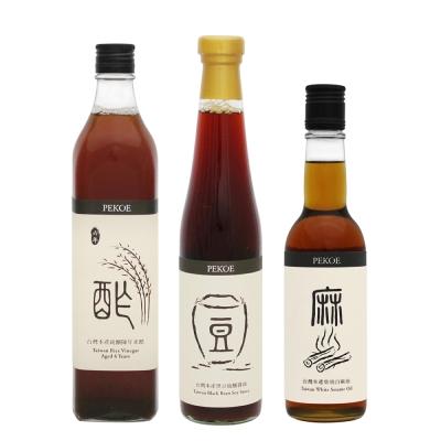 PEKOE 無敵乾拌麵三元素(醬油、麻油、米醋)