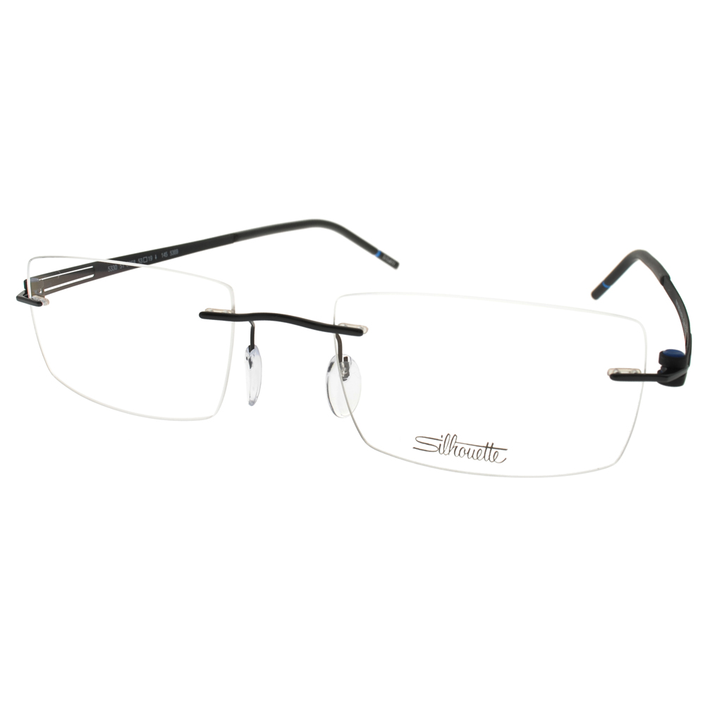 Silhouette詩樂眼鏡 極輕舒適/黑#ST5330 C6058