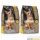 Nutram紐頓 T28無穀迷你犬 鮭魚配方 犬糧 1.36公斤 X 2包