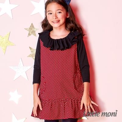 Little moni 條絨背心洋裝 (共2色)
