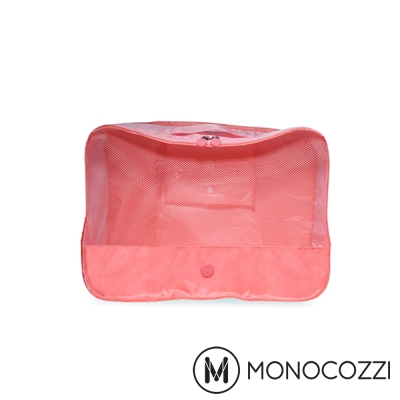 MONOCOZZI Lush 旅行衣物收納包 Apparel Pack (S)-嫩粉紅
