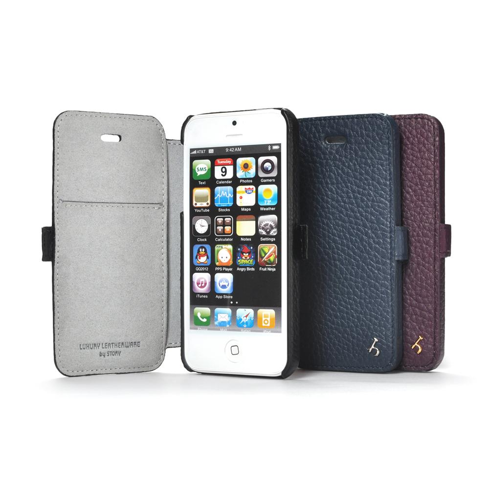 皮套王精品手工 Apple iPhone5/5S/SE 硬殼式側翻 現貨皮套