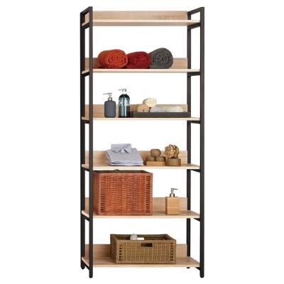 Boden-裴拉2.7尺開放式多層收納衣櫃