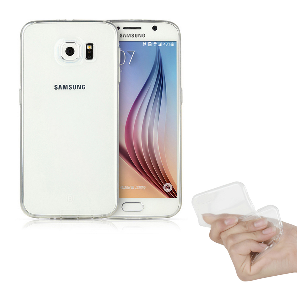 g-IDEA Samsung Galaxy S6超薄透明清水保護套附保貼