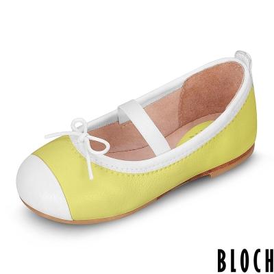 Bloch 澳洲黑邊蝴蝶結芭蕾舞鞋 黃色款