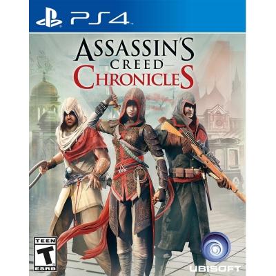 刺客教條:編年史三部曲 Assassin's Creed -PS4英文美版