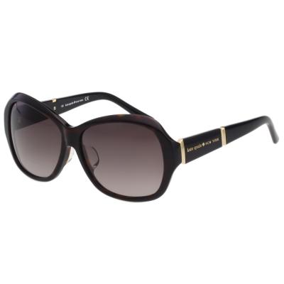 Kate Spade- 簡約造型 太陽眼鏡 (琥珀色)