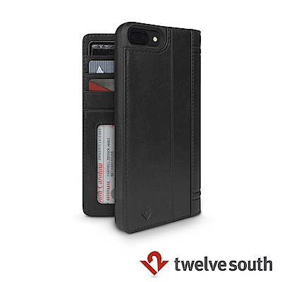 Twelve South Journal iPhone 8 Plus 皮革卡夾保...