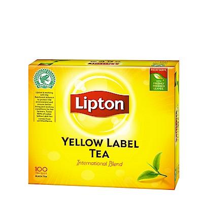 立頓 黃牌精選紅茶(100入/盒)