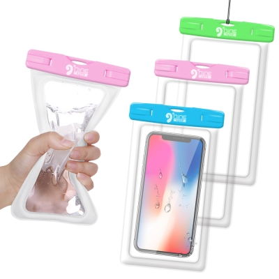 CB 指紋辨識氣囊防水袋6吋以內 iPhone X/8 Plus/三星Note8