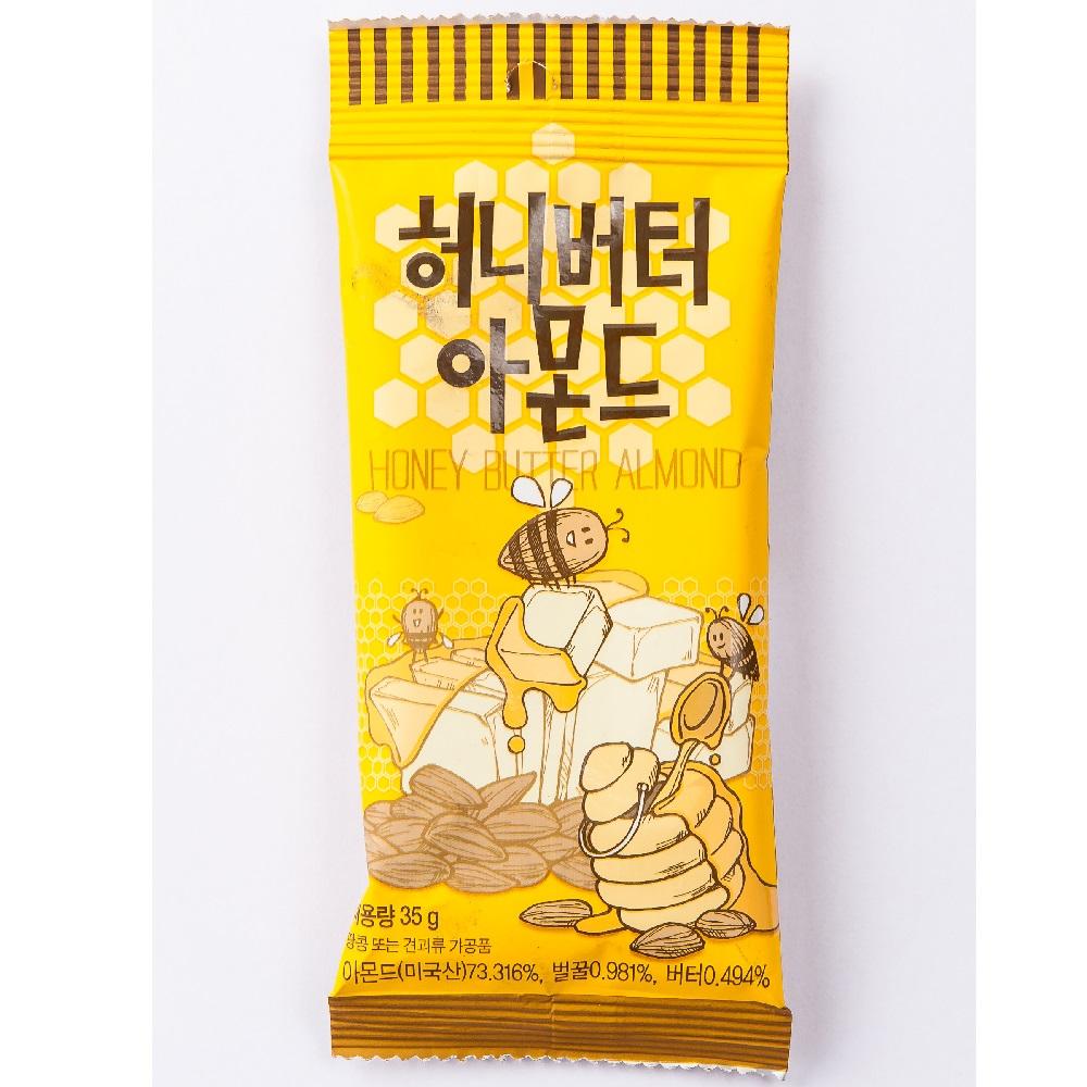 (活動)韓國Toms Gilim 超熱銷蜂蜜奶油杏仁果(35g)