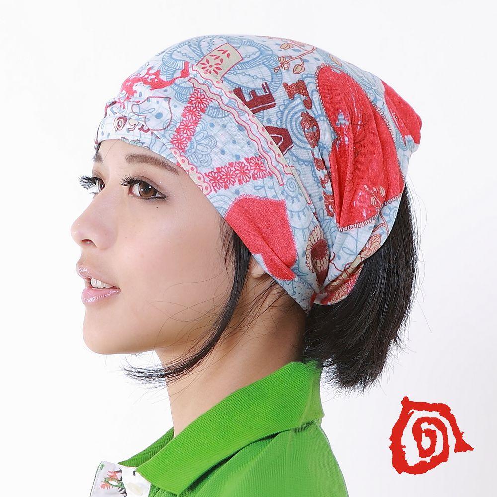 《KranGear》甜蜜巴黎 魔術頭巾