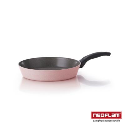 韓國NEOFLAM Reverse 彩色岩礦系列 28cm陶瓷不沾平底鍋