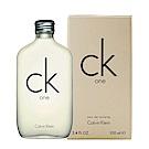 Calvin Klein CK one中性淡香水100ml-快速到貨