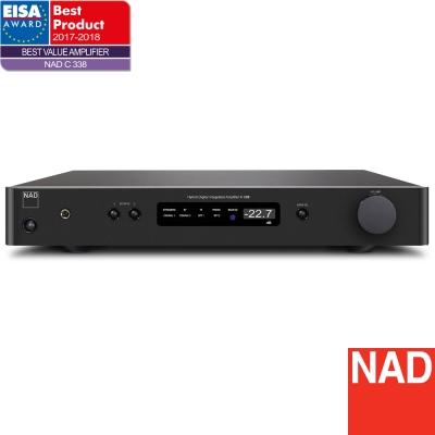 NAD 數位/類比兩用綜合擴大機 C 338
