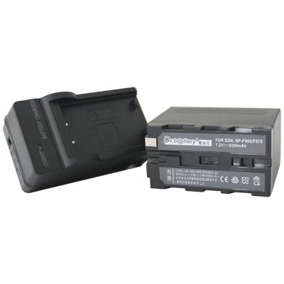 電池王-SONY-NP-F960-NP-F970-高容量鋰電池-充電器組