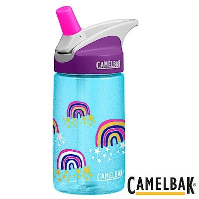 《CAMELBAK》兒童吸管運動水瓶 星星彩虹 400ml (CB1274413040)
