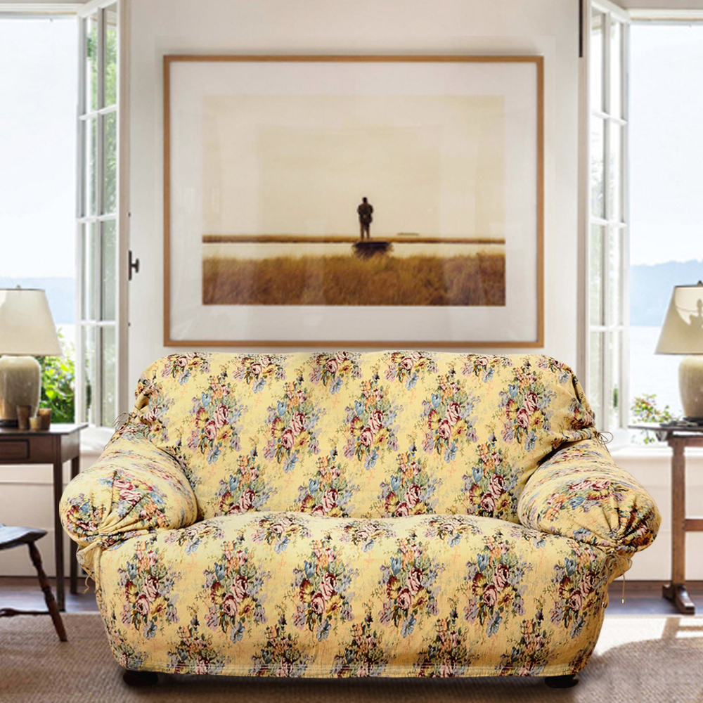 格藍家飾 瑞華彈性沙發便利套1人座