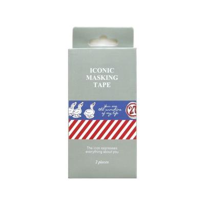 FUNZAKKA ICONIC紙膠帶組(2入)-05俏小鴨