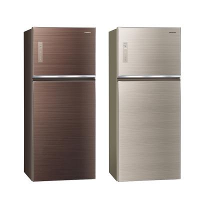Panasonic國際牌 422公升 玻璃 雙門 電冰箱 NR-B429TG